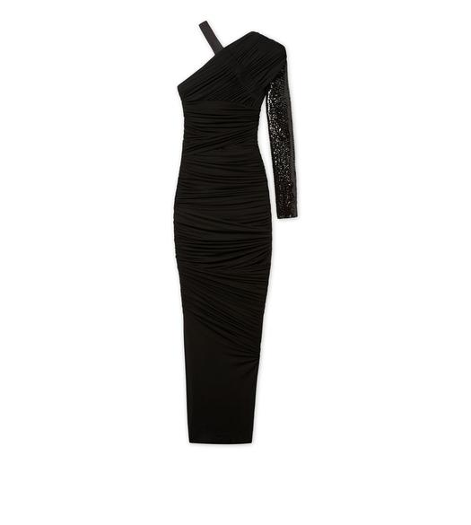 ASYMMETRICAL EVENING DRESS