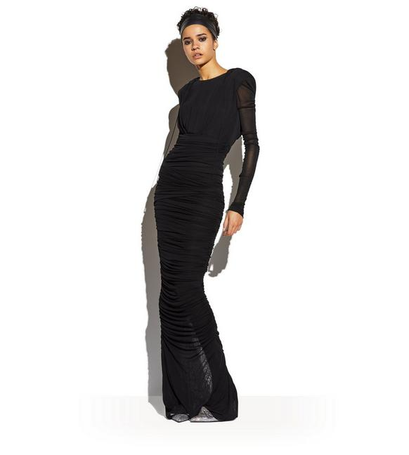 Tom Ford BUSTIER HOODED GOWN | TomFord.com