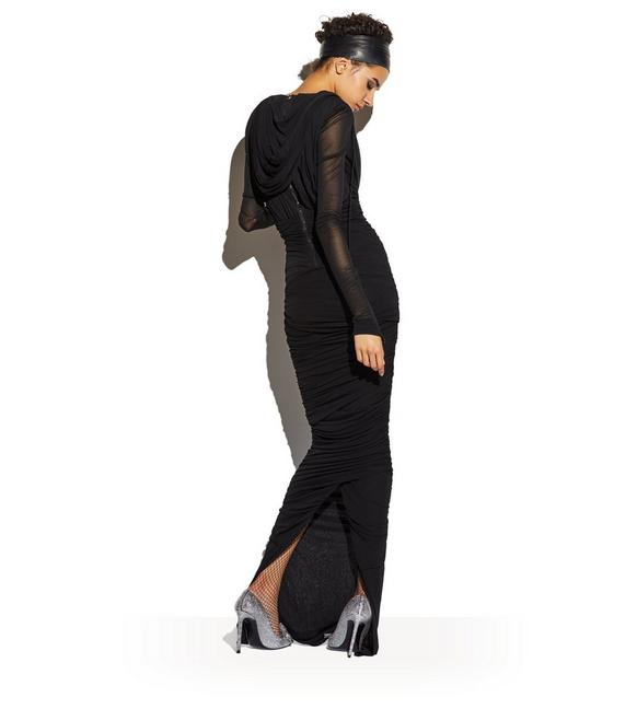 Tom Ford BUSTIER HOODED GOWN - Women | TomFord.com