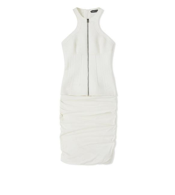 QUILTED BODICE DRESS A fullsize