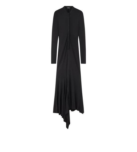 LIGHT CREPE JERSEY HANLEY DRESS A fullsize