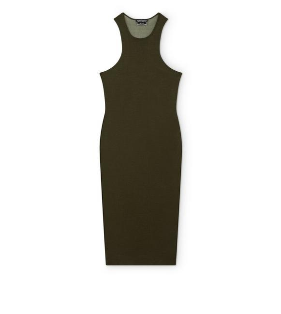 CASHMERE SILK TANK DRESS A fullsize