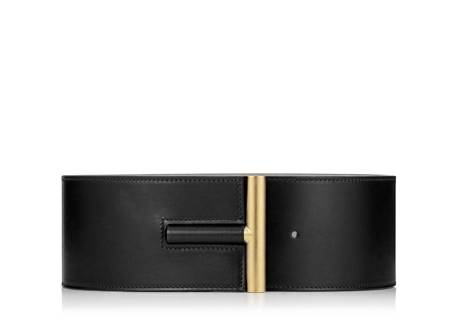 SMOOTH VACCHETTA T BAR WAIST BELT A fullsize