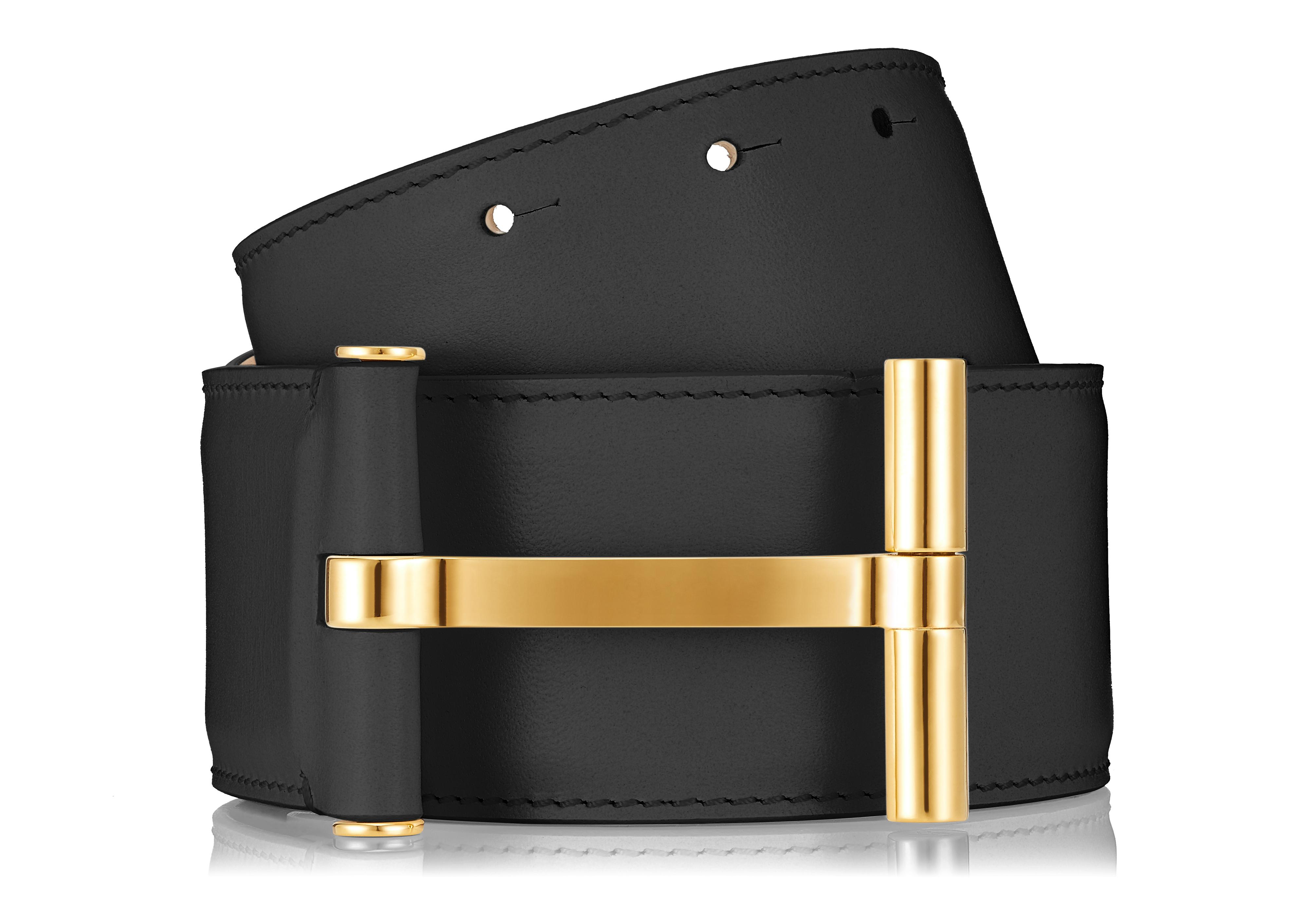 SMOOTH VACCHETTA T CLASP WAIST BELT D thumbnail