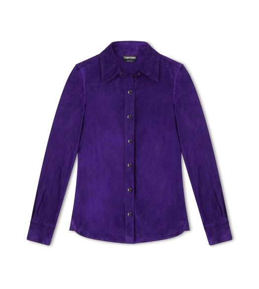 LIGHTWEIGHT SOFT SUEDE SHIRT