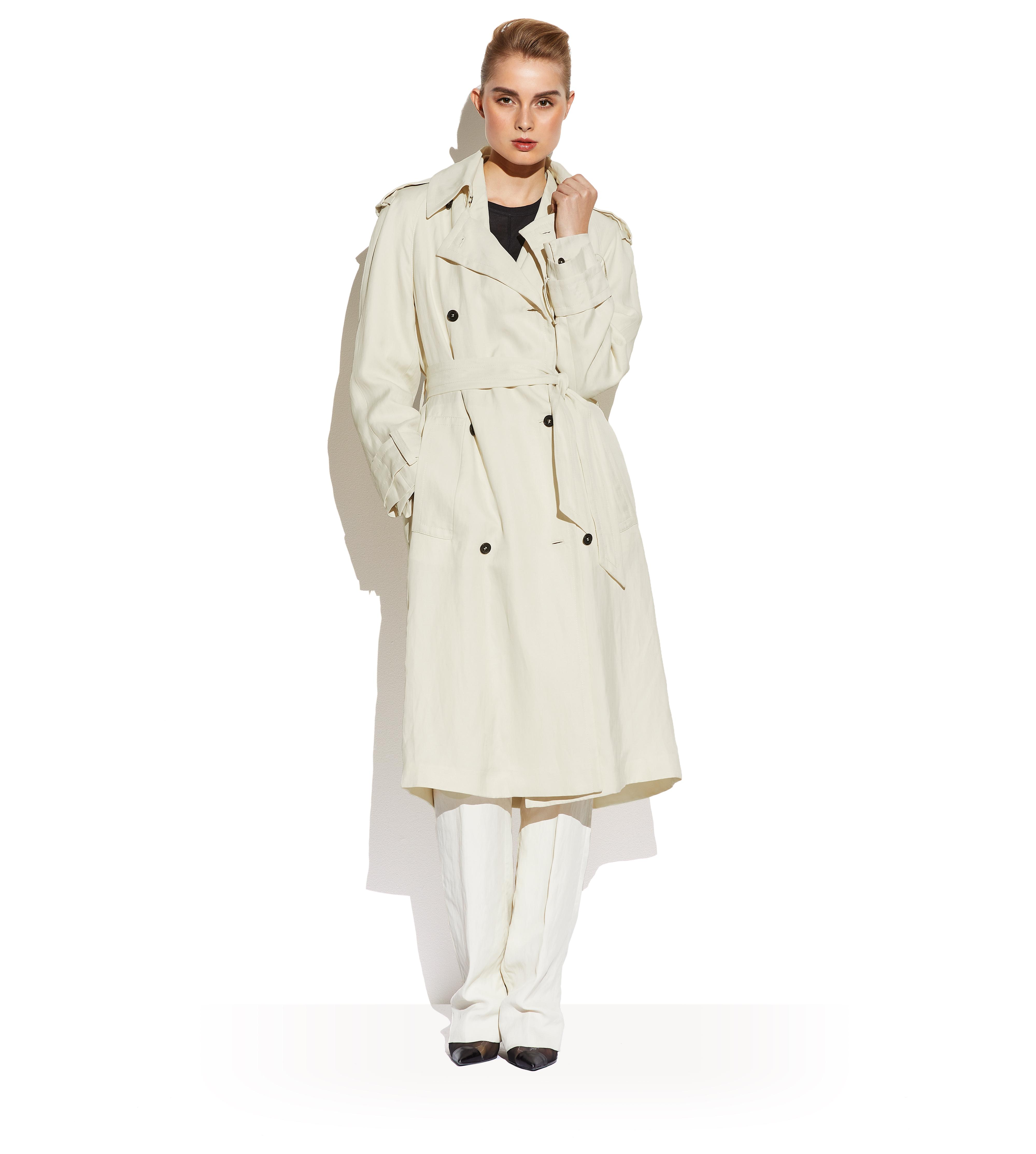 DOUBLE BREASTED TRENCH COAT B thumbnail