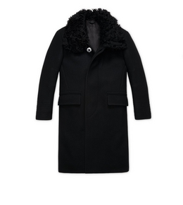 1335208538 WOOL AND SHEARLING COAT