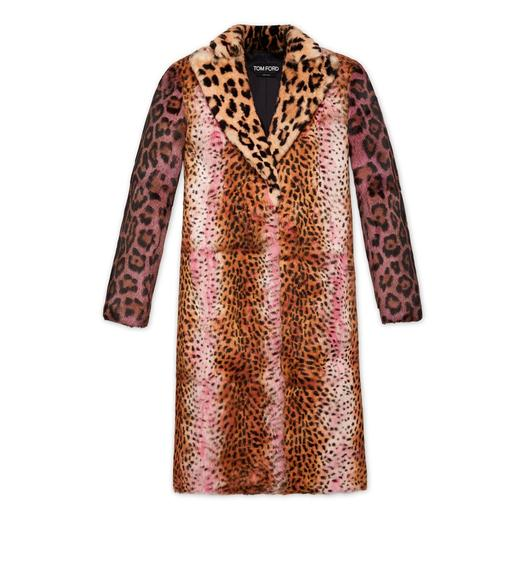 JAGUAR AND CHEETAH PRINT COAT