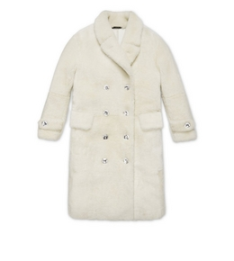 3005260516 TEDDY SHEARLING COAT