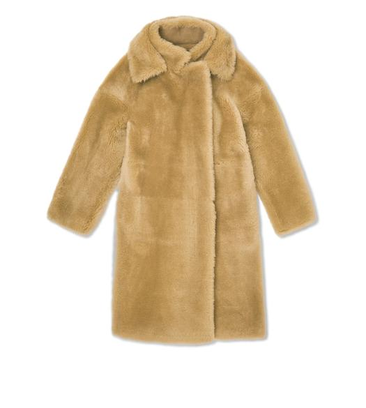 LUX SOFT SHEARLING COAT