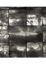 LONG OPEN-FRONT PATCHWORK LEATHER COAT D thumbnail