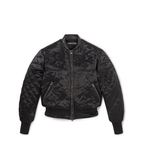 QUILTED BOMBER JACKET A fullsize