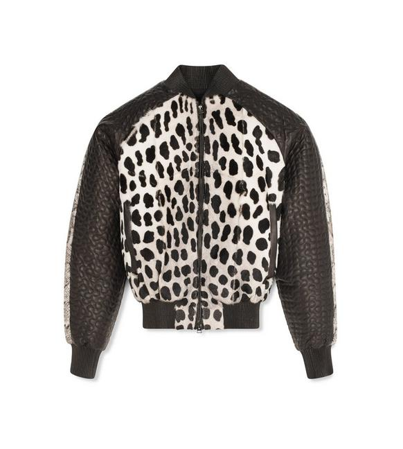 PANTHER PRINTED BOMBER JACKET A fullsize