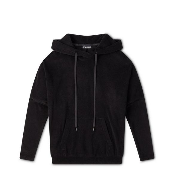 TOWELLING JERSEY HOODIE A fullsize