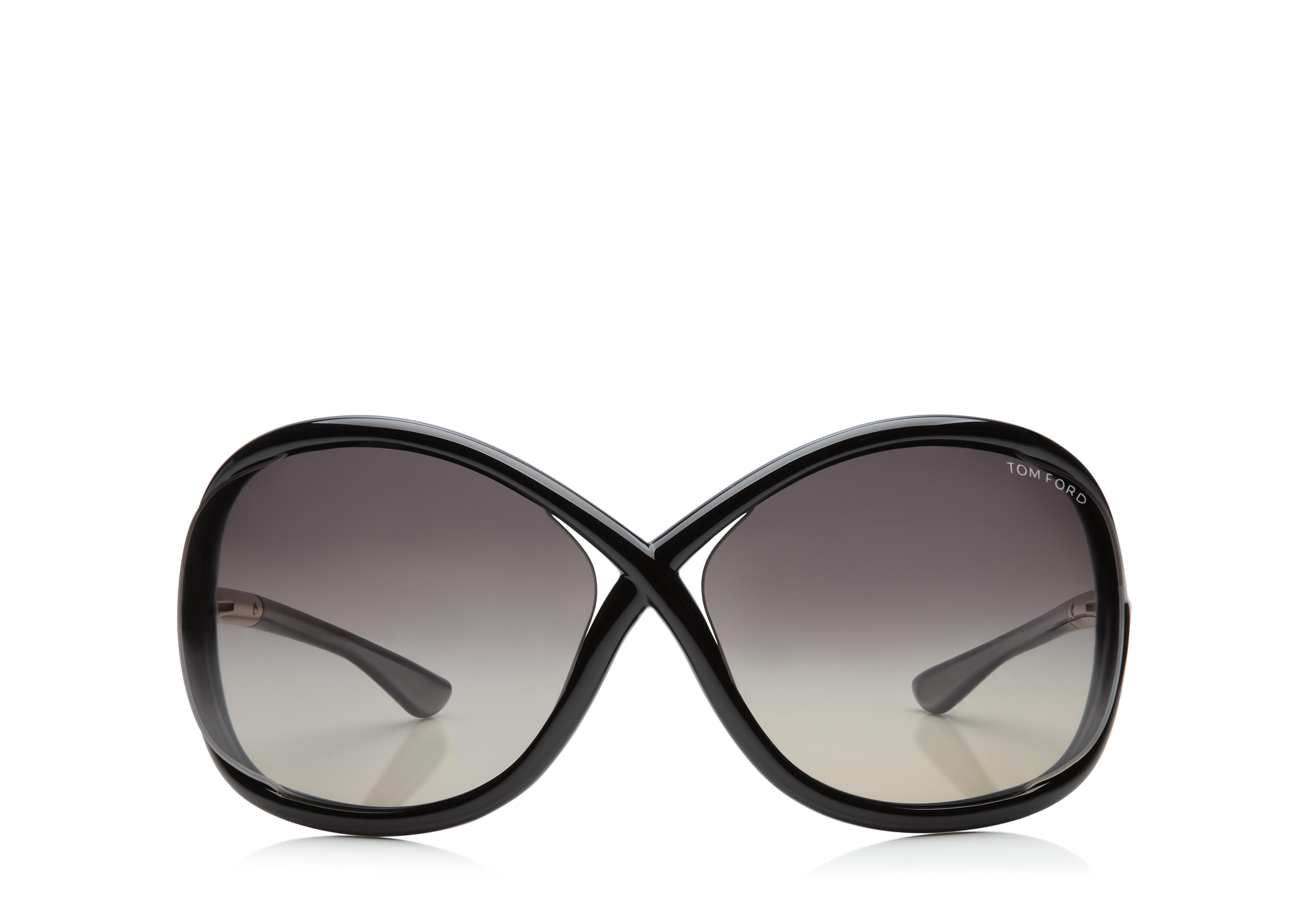 Whitney Oversized Soft Round Polarized Sunglasses A thumbnail