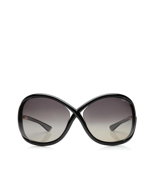 Whitney Oversized Soft Round Polarized Sunglasses