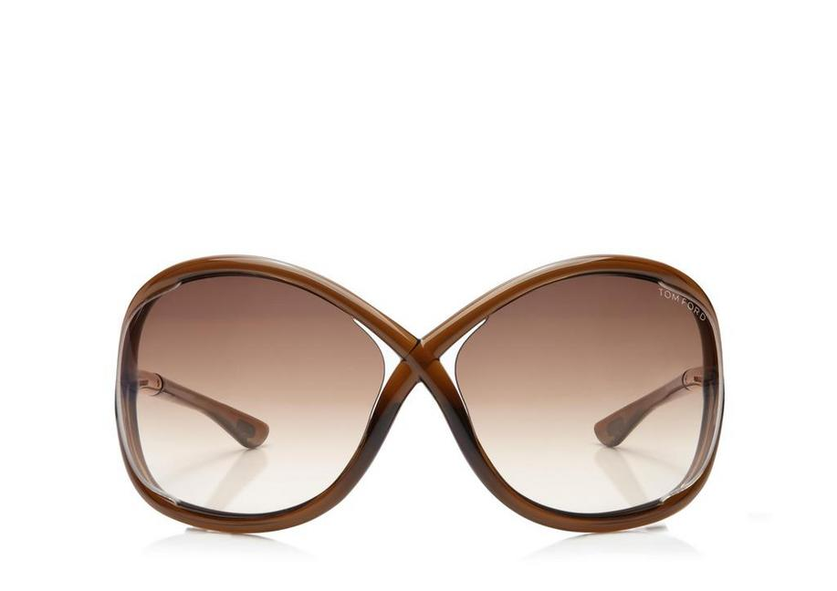 d8dbd110c7082 Tom Ford Whitney Oversized Soft Round Sunglasses