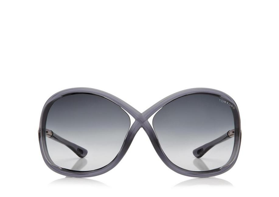 Whitney Oversized Soft Round Sunglasses A fullsize