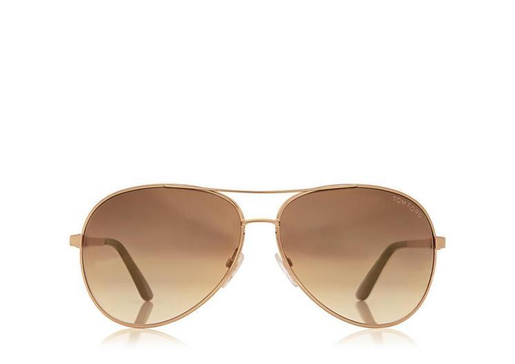 Charles Round Aviator Sunglasses A fullsize