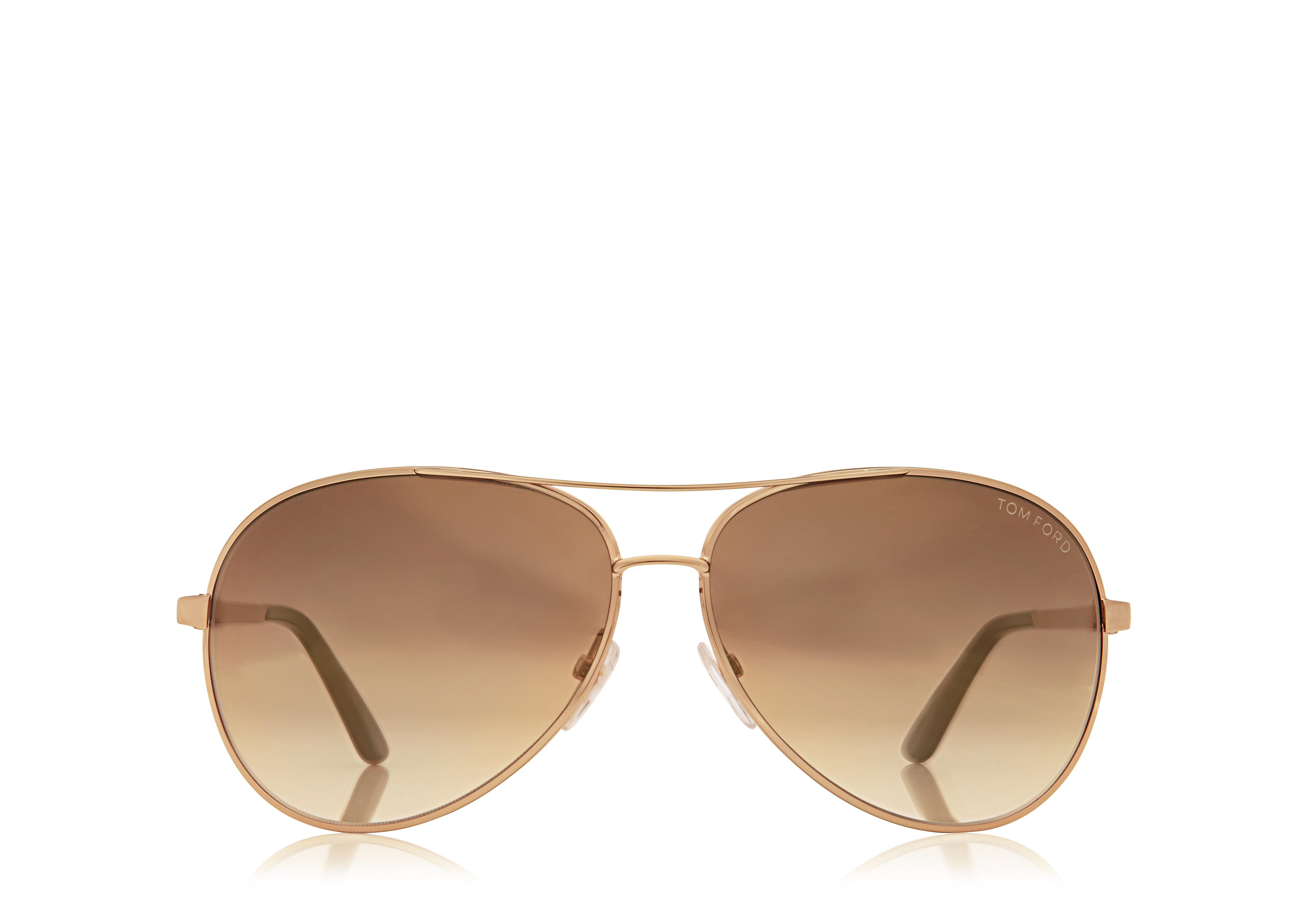 Charles Round Aviator Sunglasses A thumbnail