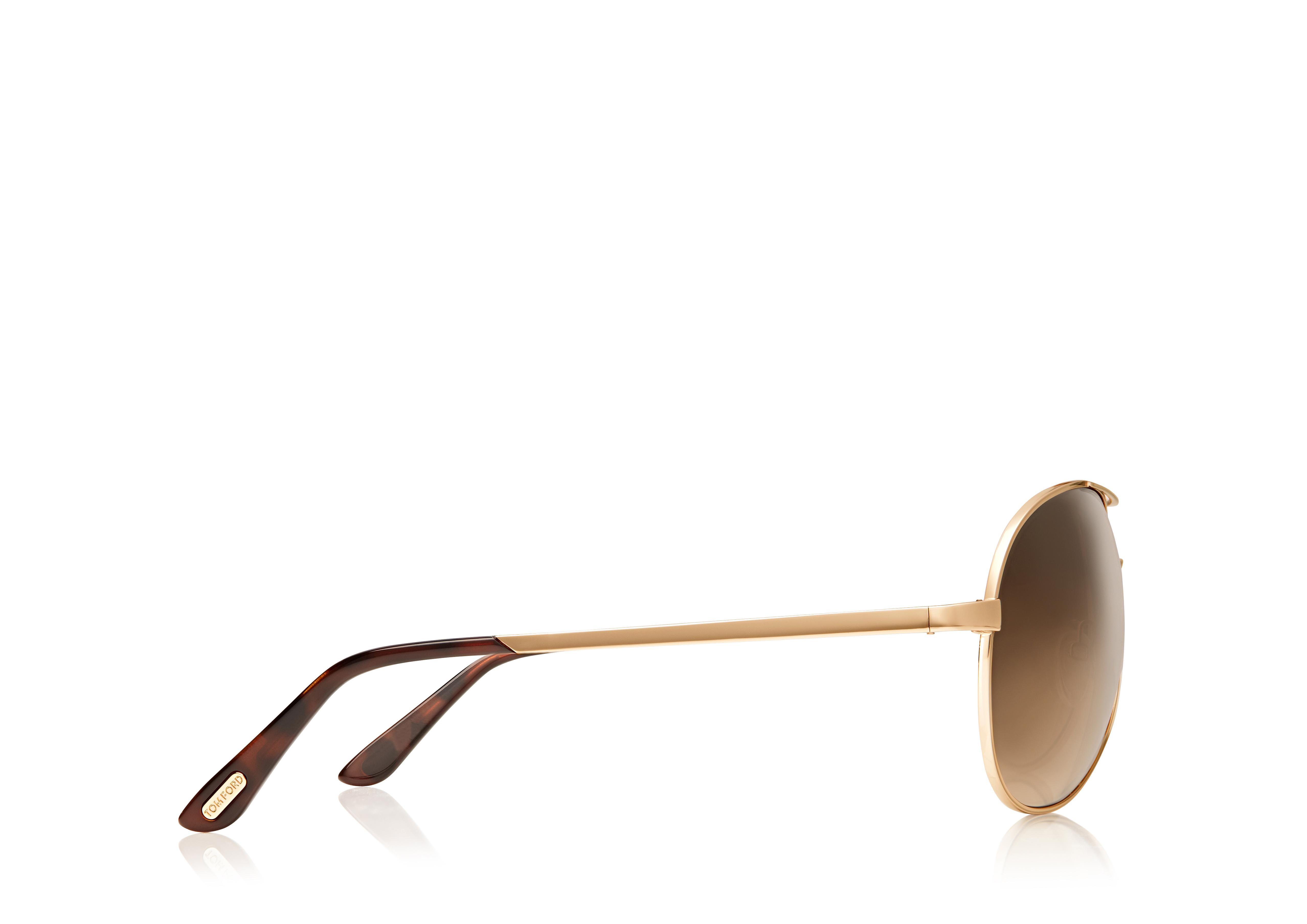 Charles Round Aviator Sunglasses B thumbnail