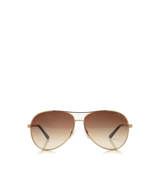 8a37feb9c8b8d Charles Round Aviator Sunglasses