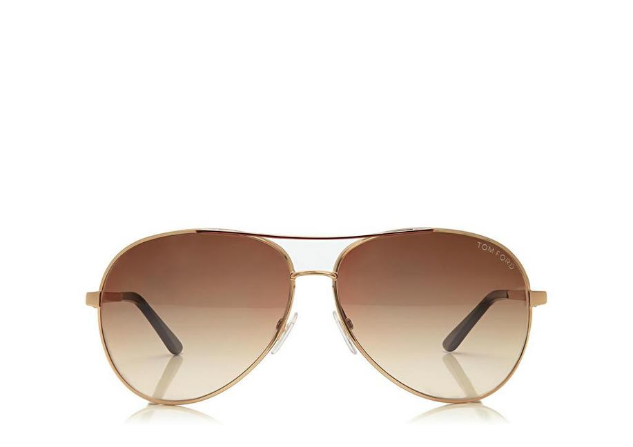 bd6d82217680 Tom Ford Charles Round Aviator Sunglasses