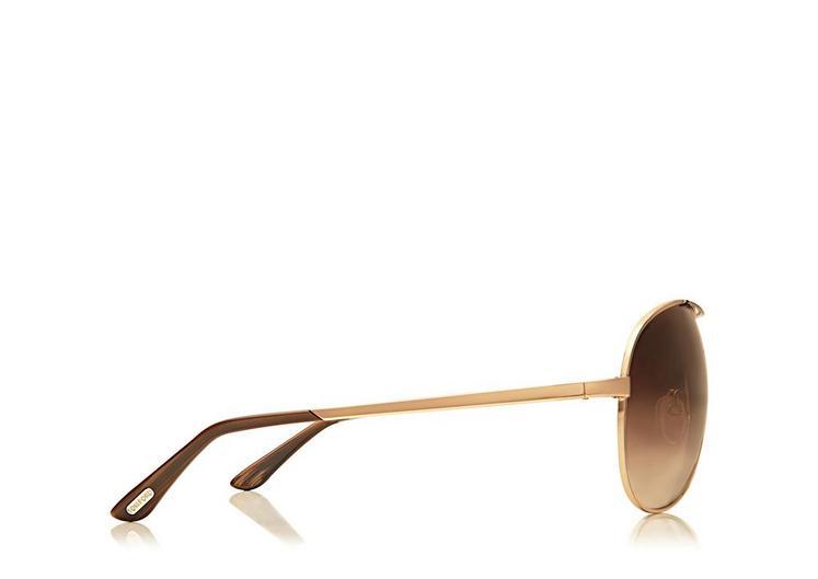 Charles Round Aviator Sunglasses B fullsize