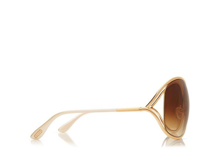 Miranda Oversized Soft Square Sunglasses B fullsize