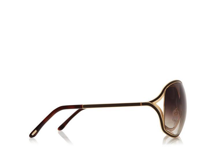 Rickie Oversized Soft Square Sunglasses B fullsize
