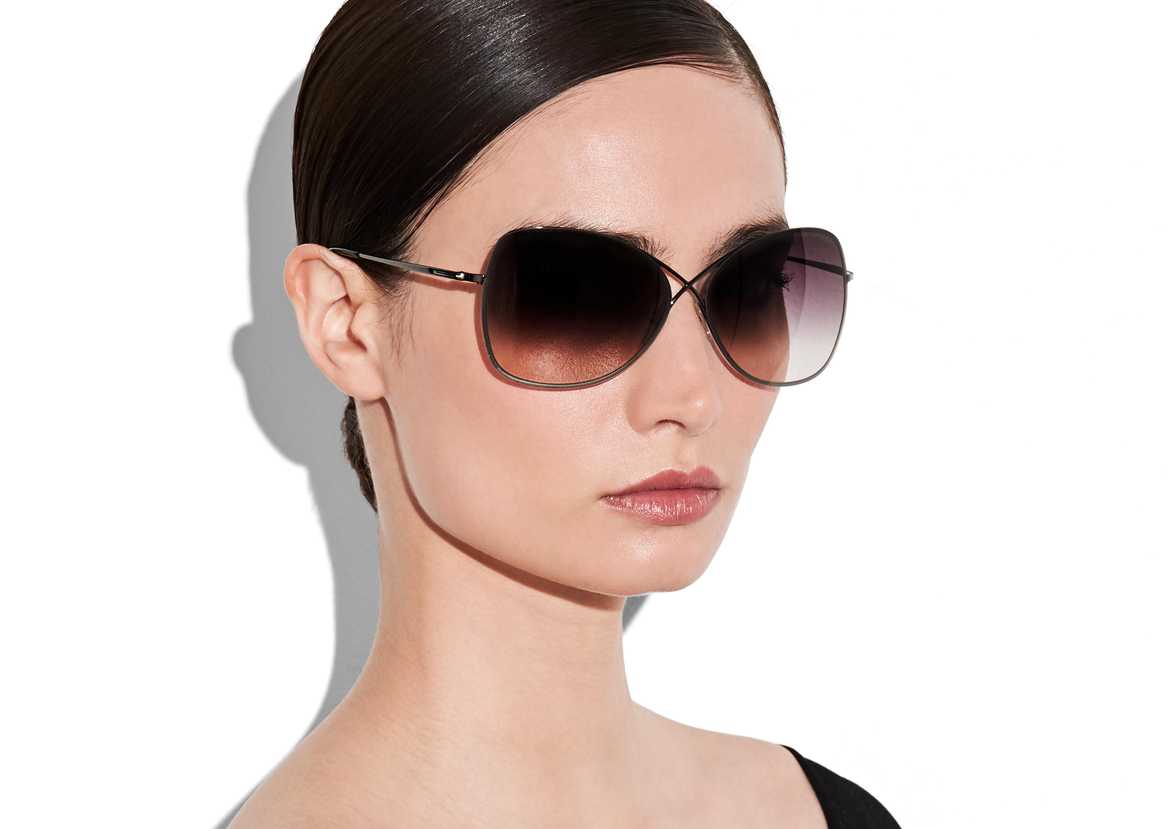 Details about  /NEW TOM FORD TF253 50Z PURPLE AUTHENTIC SUNGLASSES 63-10-135