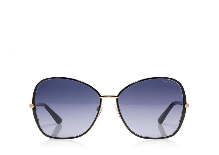 Solange Vintage Soft Square Sunglasses A fullsize