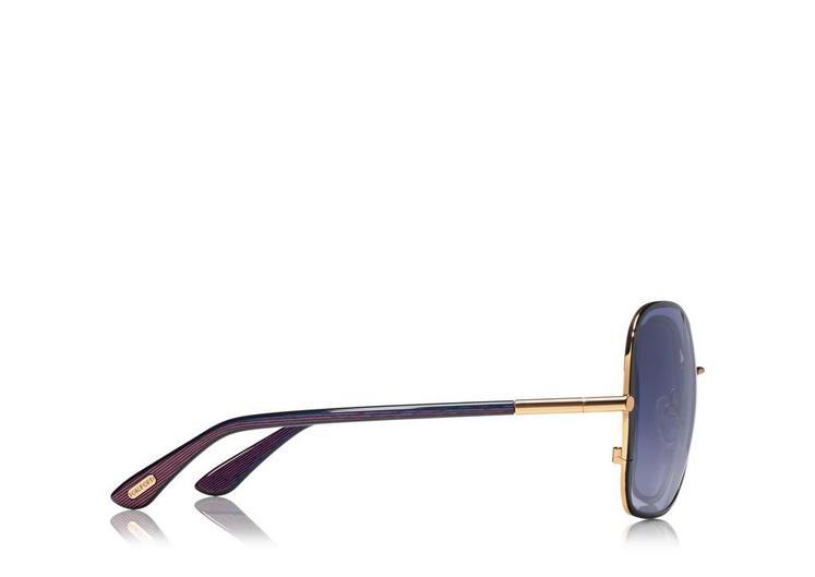 Solange Vintage Soft Square Sunglasses B fullsize