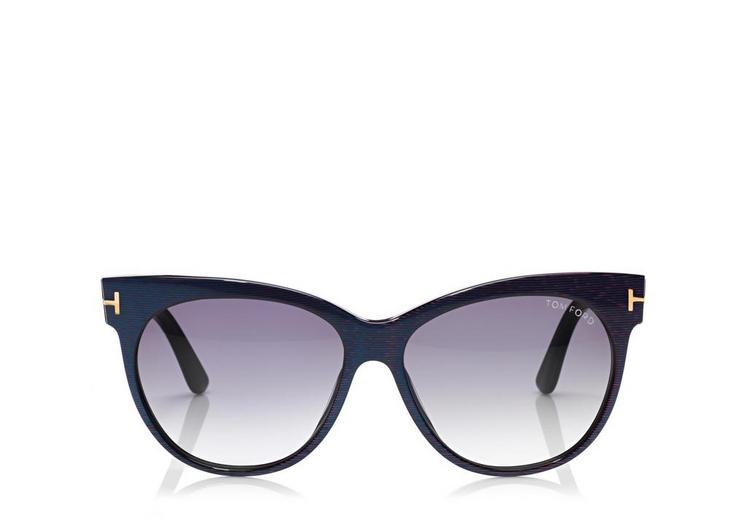 Saskia Soft Cat-Eye Sunglasses A fullsize