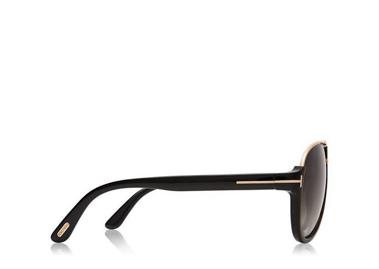 Dimitry Vintage Aviator Sunglasses B fullsize