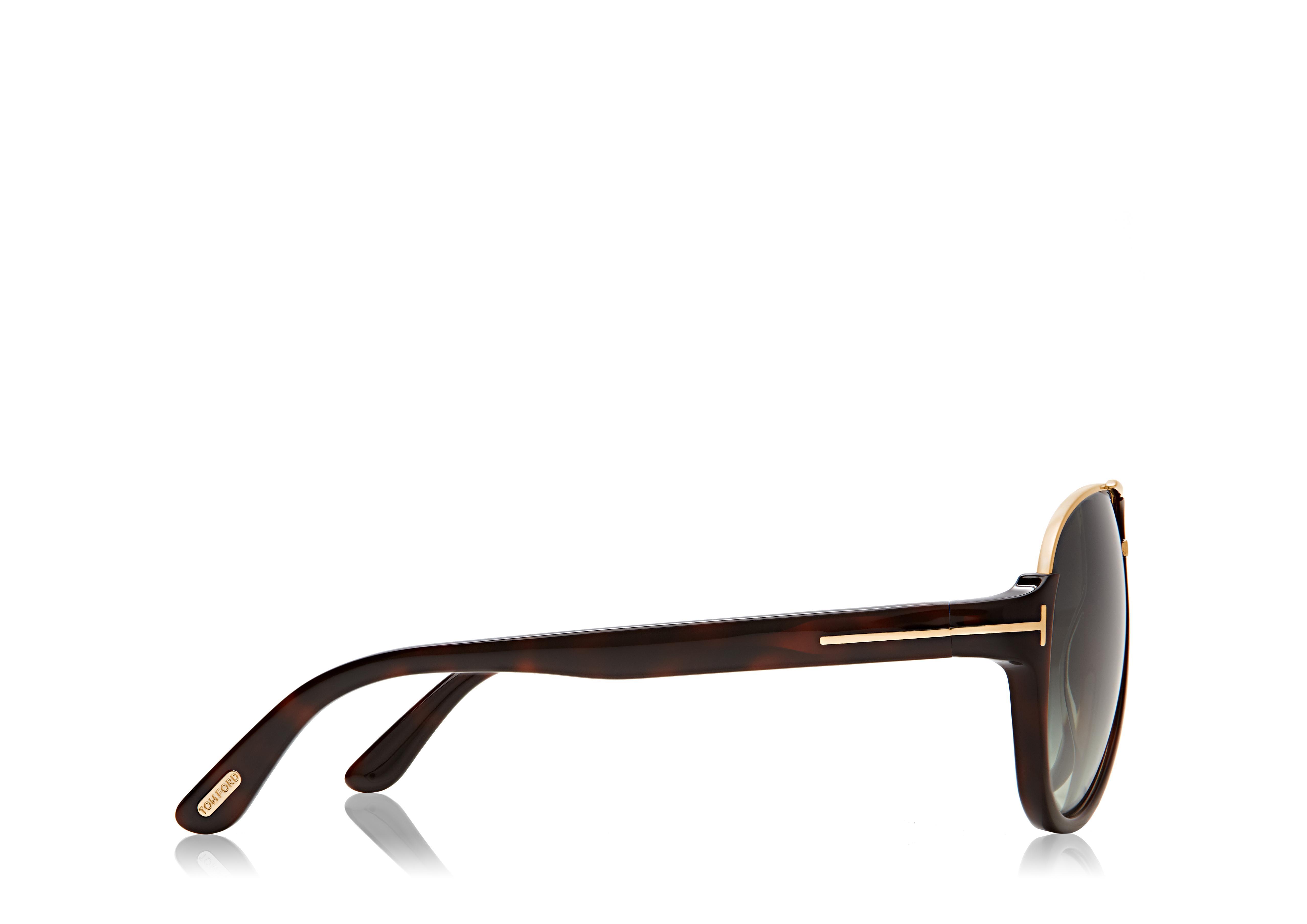 Dimitry Vintage Aviator Sunglasses B thumbnail