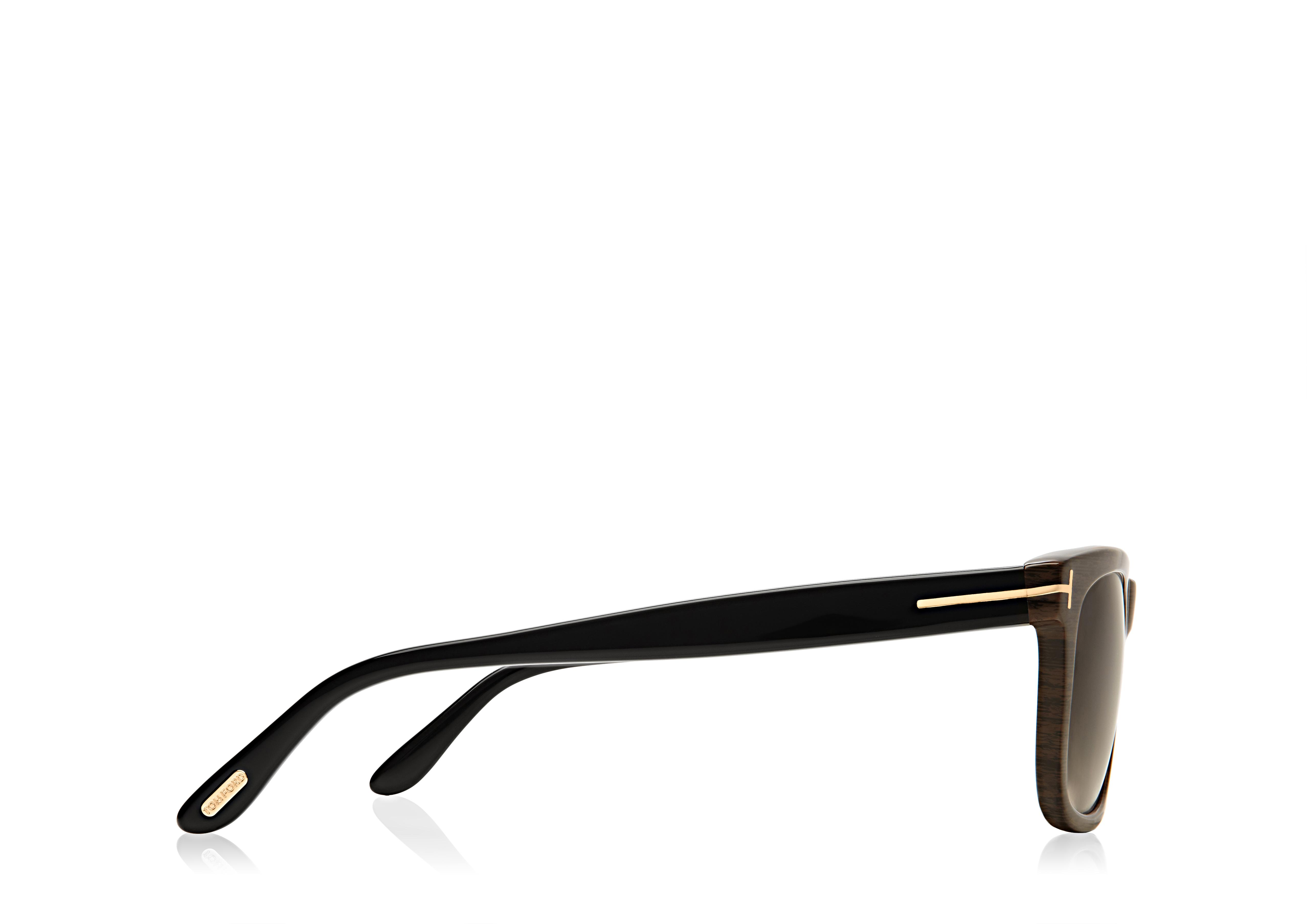 Leo Square Sunglasses B thumbnail