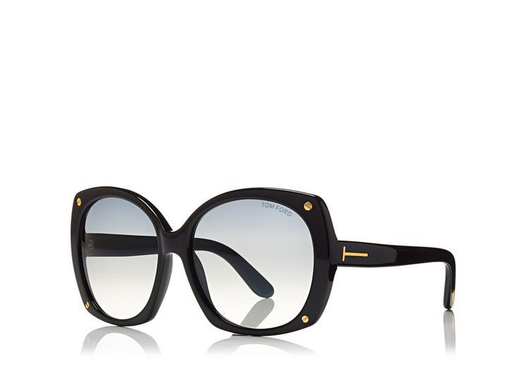 Gabriella Round Sunglasses C fullsize
