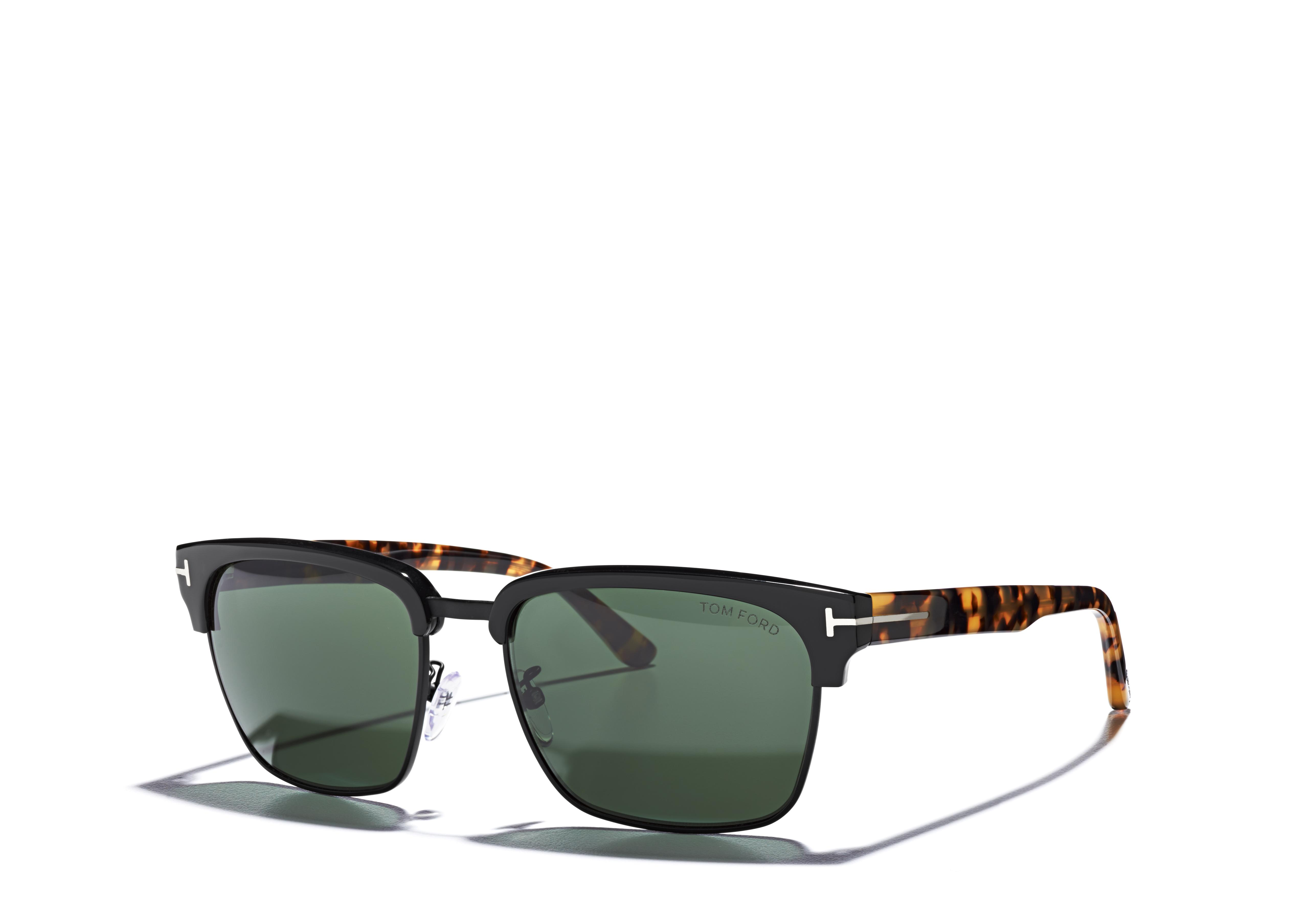 River Vintage Square Sunglasses C thumbnail