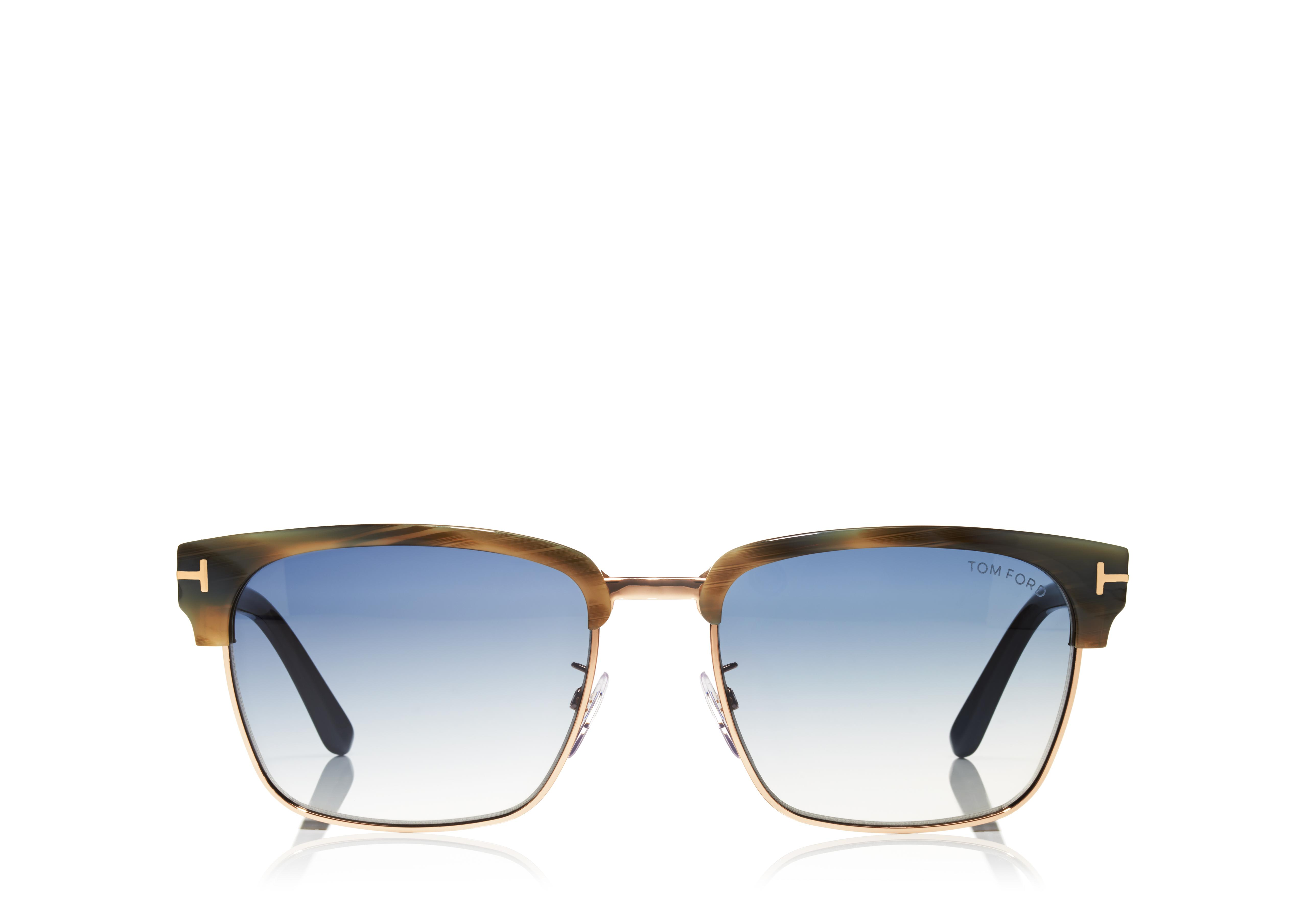 River Vintage Square Sunglasses A thumbnail