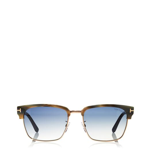 River Vintage Square Sunglasses
