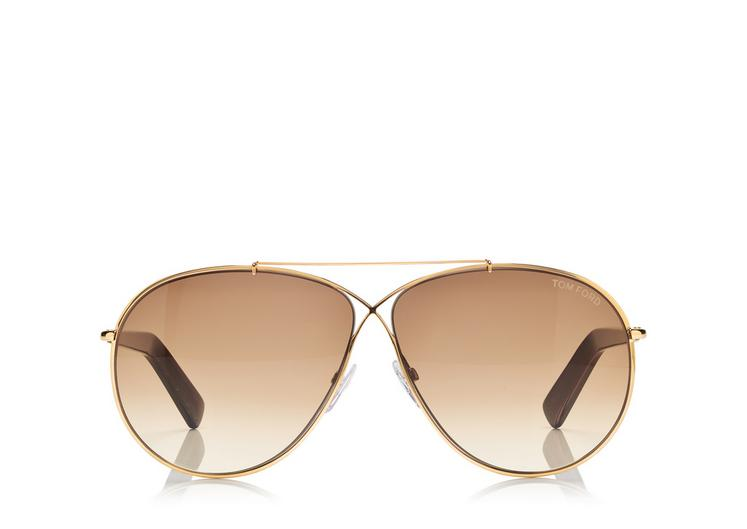 tom ford sunglasses rrve  Eva Pilot Sunglasses