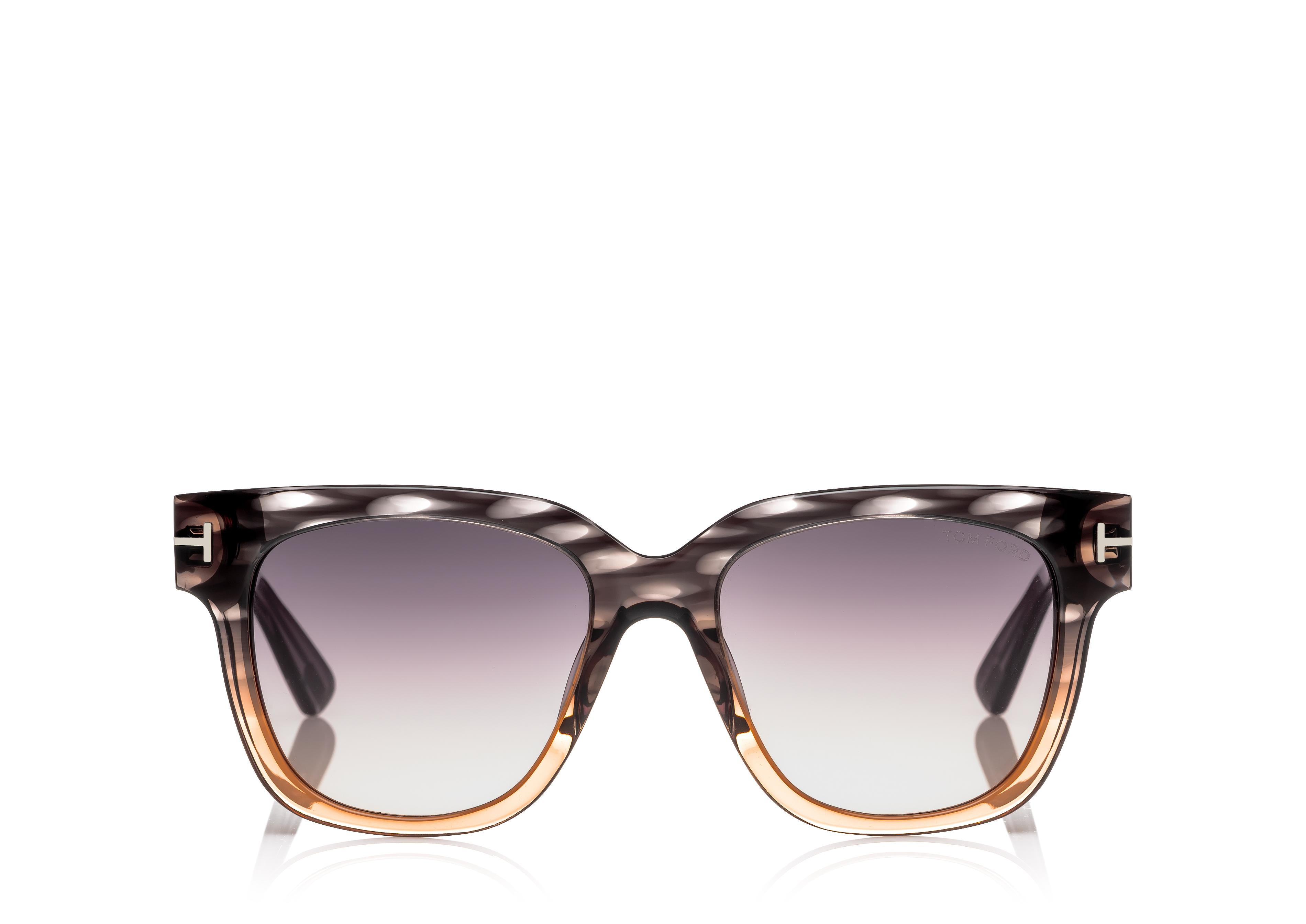 TRACY SUNGLASSES WITH FLASH LENSES A thumbnail