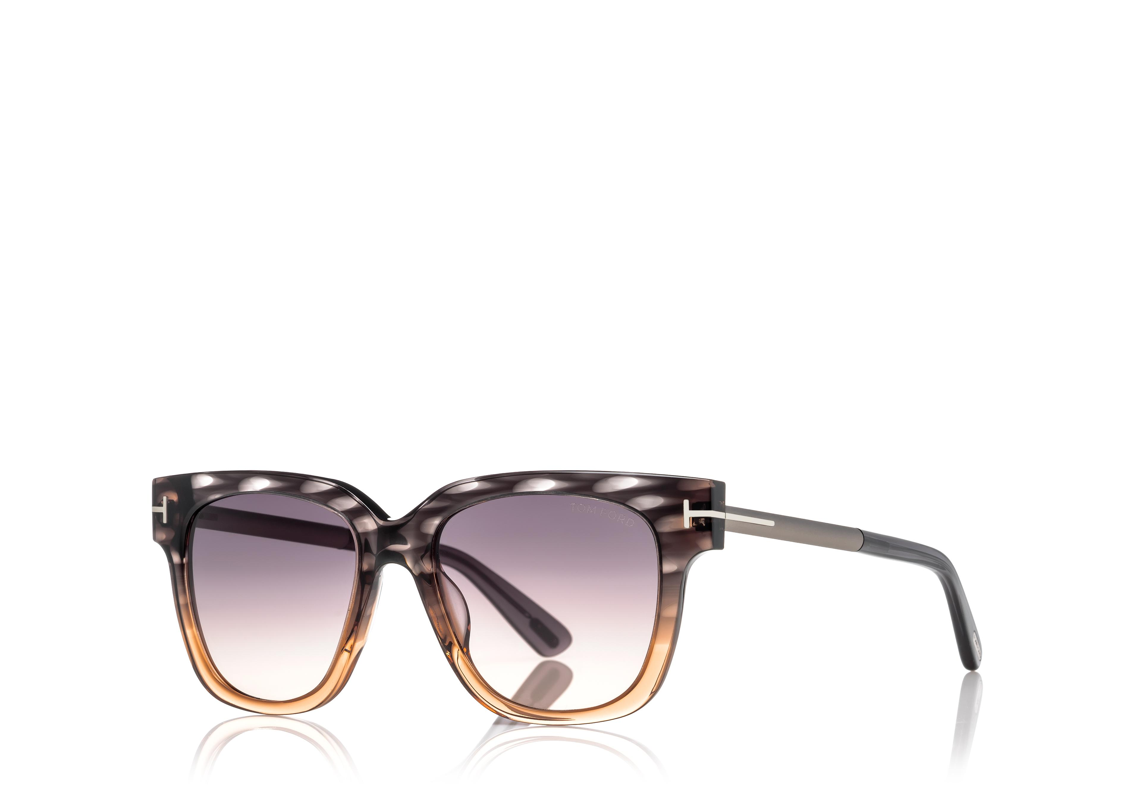 TRACY SUNGLASSES WITH FLASH LENSES C thumbnail