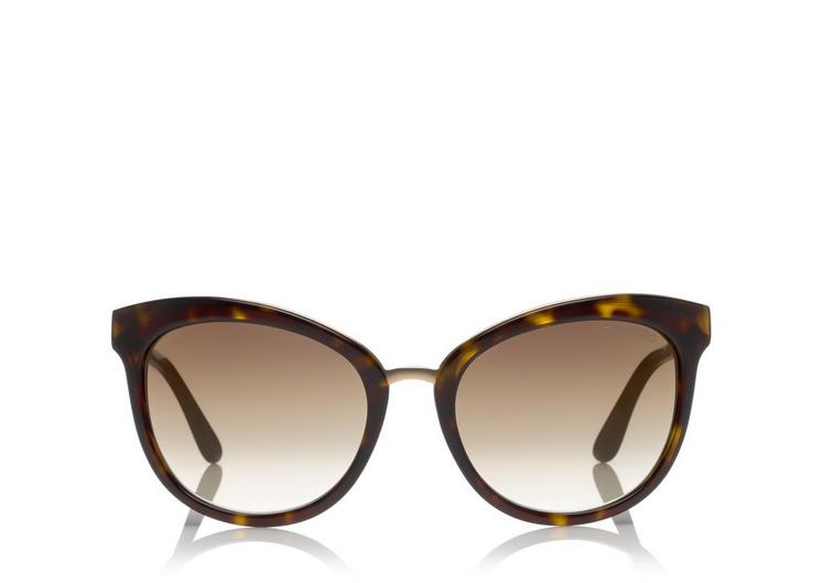 EMMA CAT-EYE SUNGLASSES A fullsize