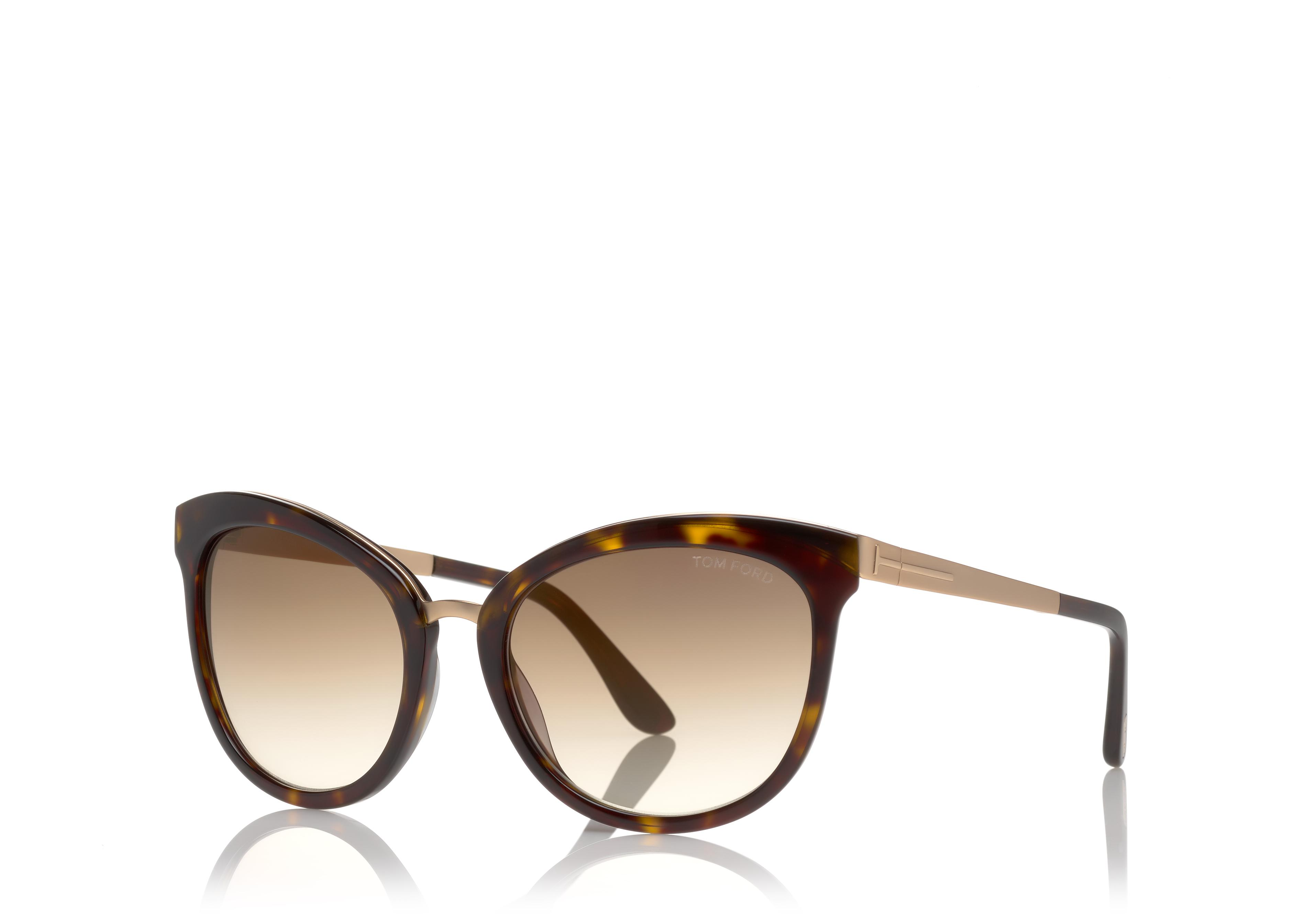 Emma Gradient Frame Cateye Glasses : TOM FORD Ft0461 Emma Tortoiseshell Cat-Eye Frame ...