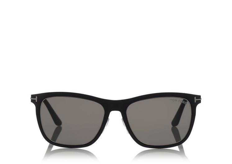 06aa5651fd TOM FORD MEN S ALASDHAIR SQUARE SUNGLASSES