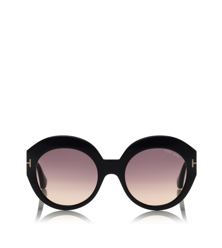 8c1a53bd2b9 Tom Ford Ladies Oversized Butterfly Sunglasses