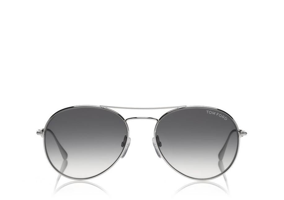 Sunglasses On Sale, Silver, 2017, one size Tom Ford