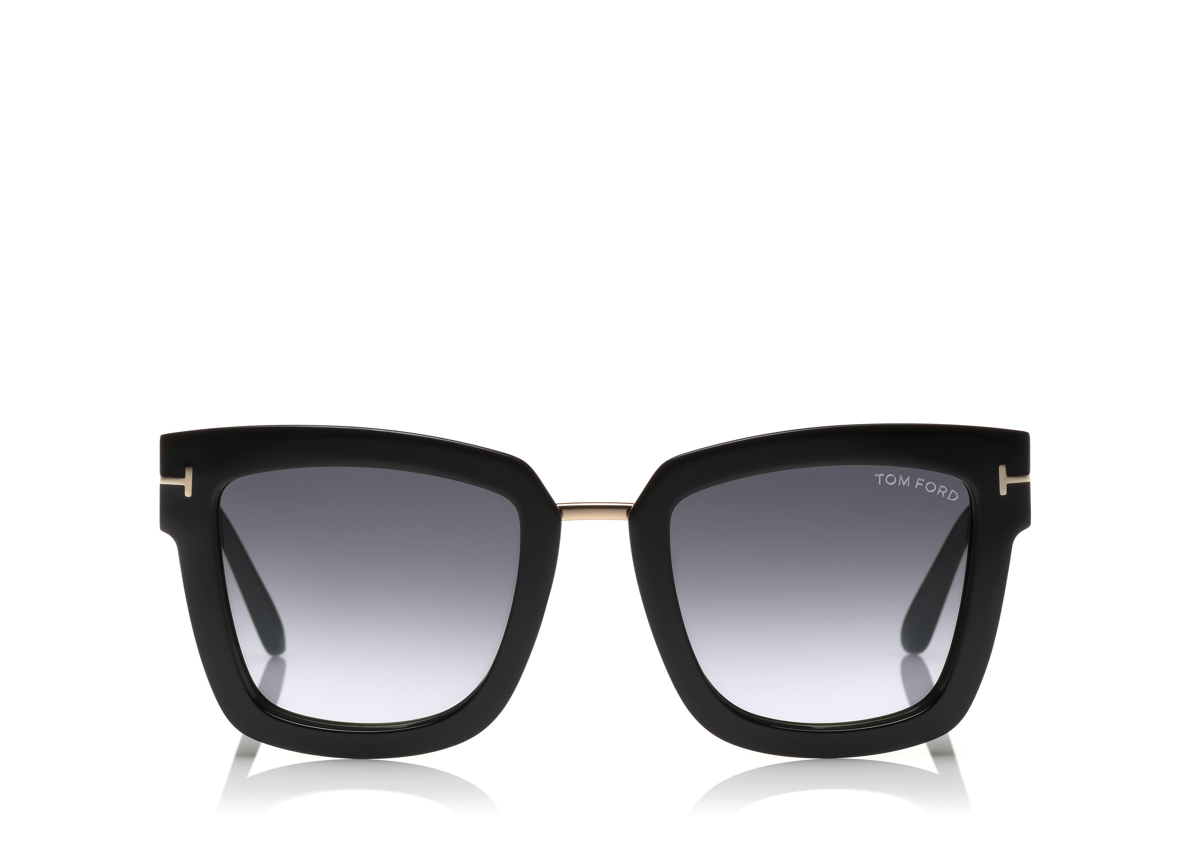 d26f5c1d59 seductive silhouette of the Lara sunglasses. Color  black. Pattern  plain.  Material composition  synthetic glasses